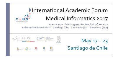 INTERNATIONAL ACADEMIC FORUM MEDICAL INFORMATICS 2017
