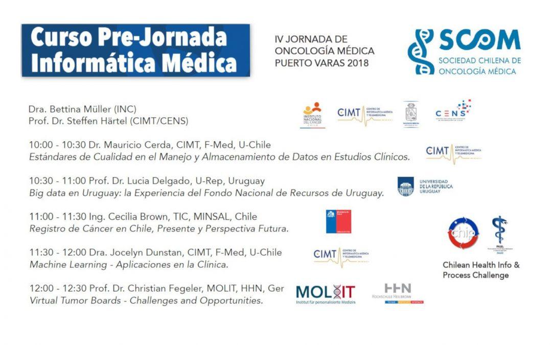 IV JORNADA DE ONCOLOGÍA MÉDICA 2018