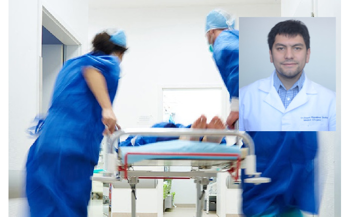 """DOCTOR CHILENO MEJORA """"APP"""" JAPONESA PARA SALAS DE URGENCIA"""