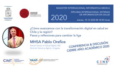 PABLO OREFICE AL CIERRE DE AÑO ACADÉMICO 2020