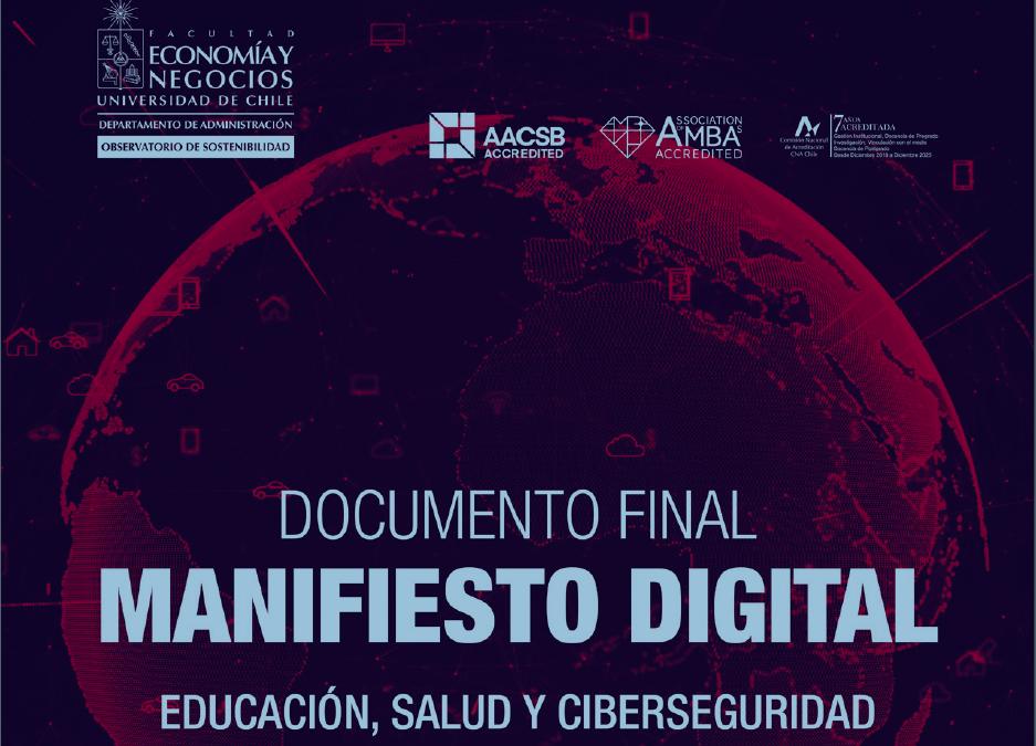 MANIFIESTO DIGITAL – EDUCACIÓN, SALUD Y CIBERSEGURIDAD