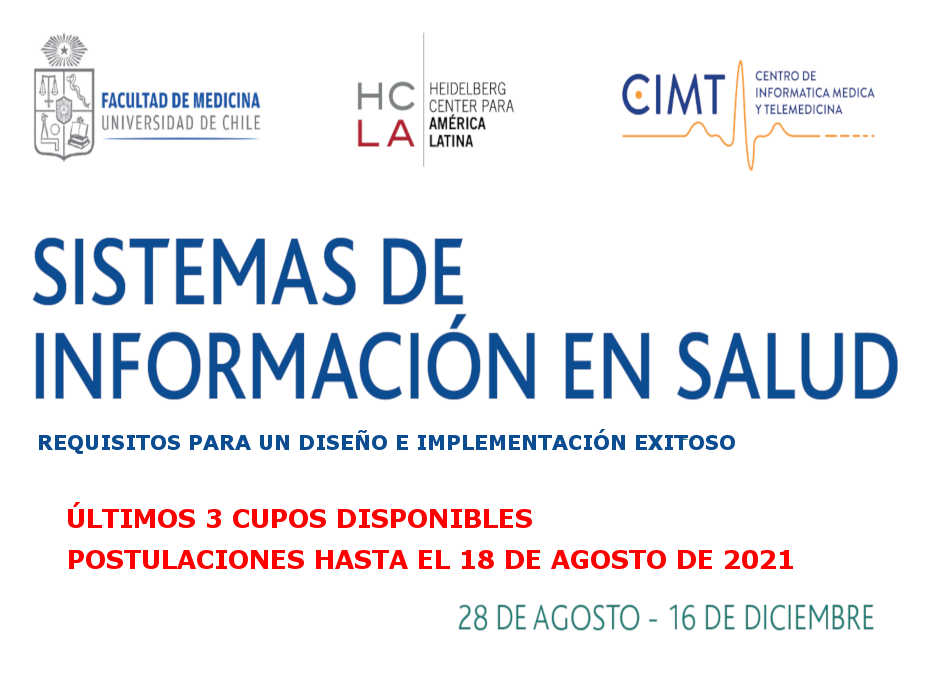 DIPLOMA INTERNACIONAL EN INFORMÁTICA MÉDICA 2021