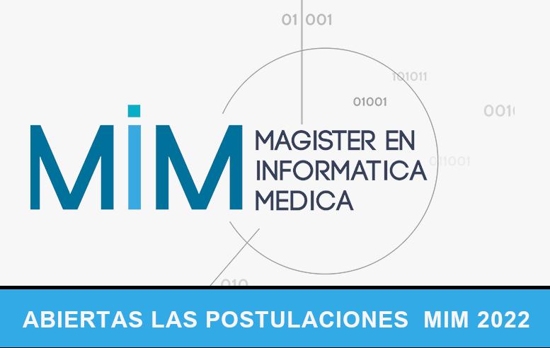 MAGISTER INTERNACIONAL EN INFORMÁTICA MÉDICA